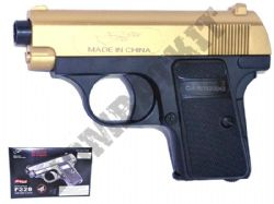 P328 Compact Airsoft BB Gun Black and Gold